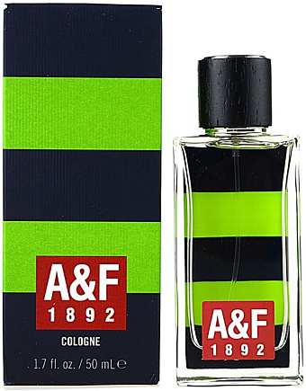 Abercrombie & Fitch 1892 Green Stripes